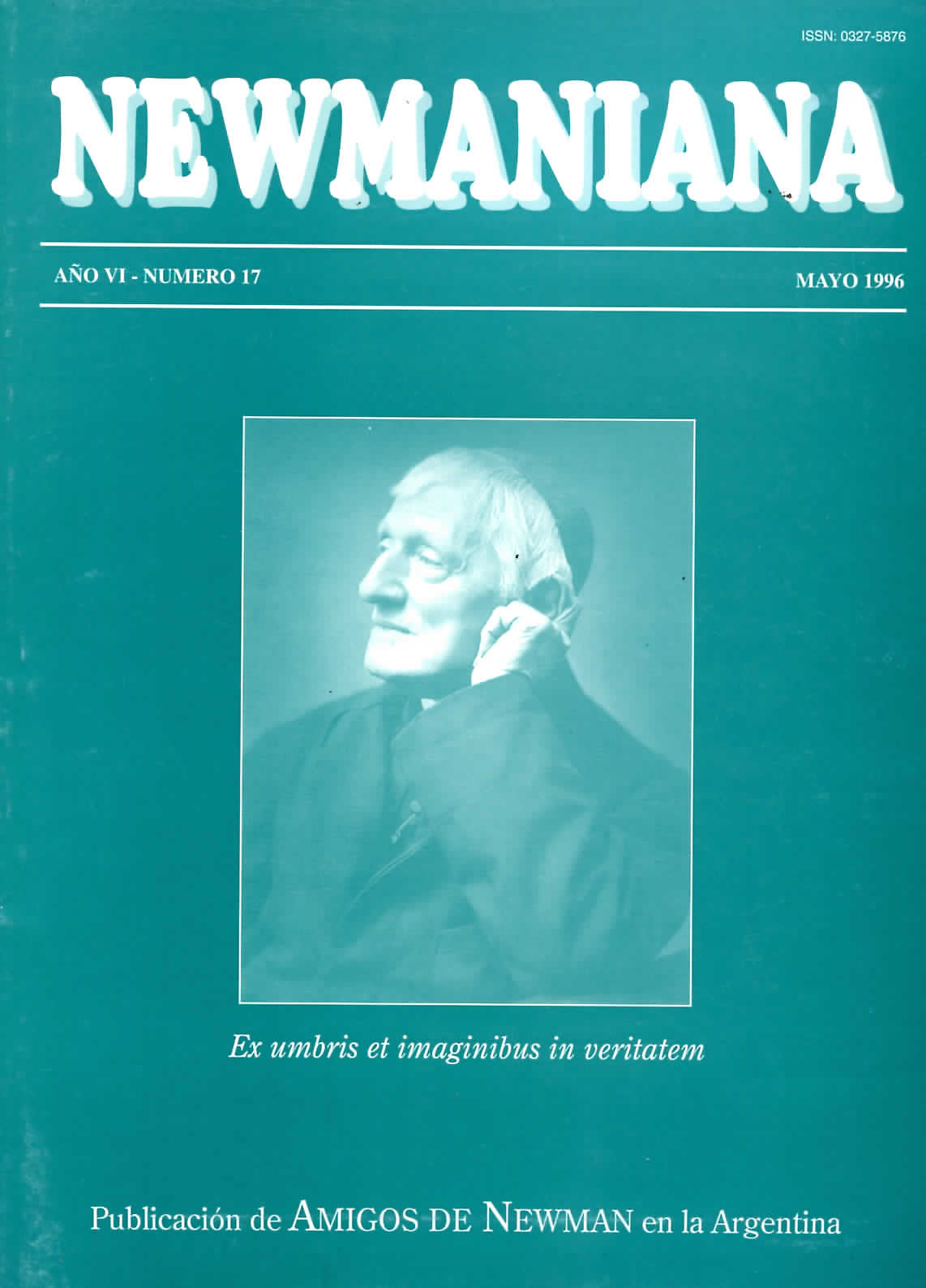 Revista Newmaniana Nº 17 -Mayo 1996