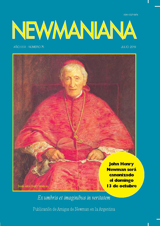Revista Newmaniana N°75 – Julio 2019