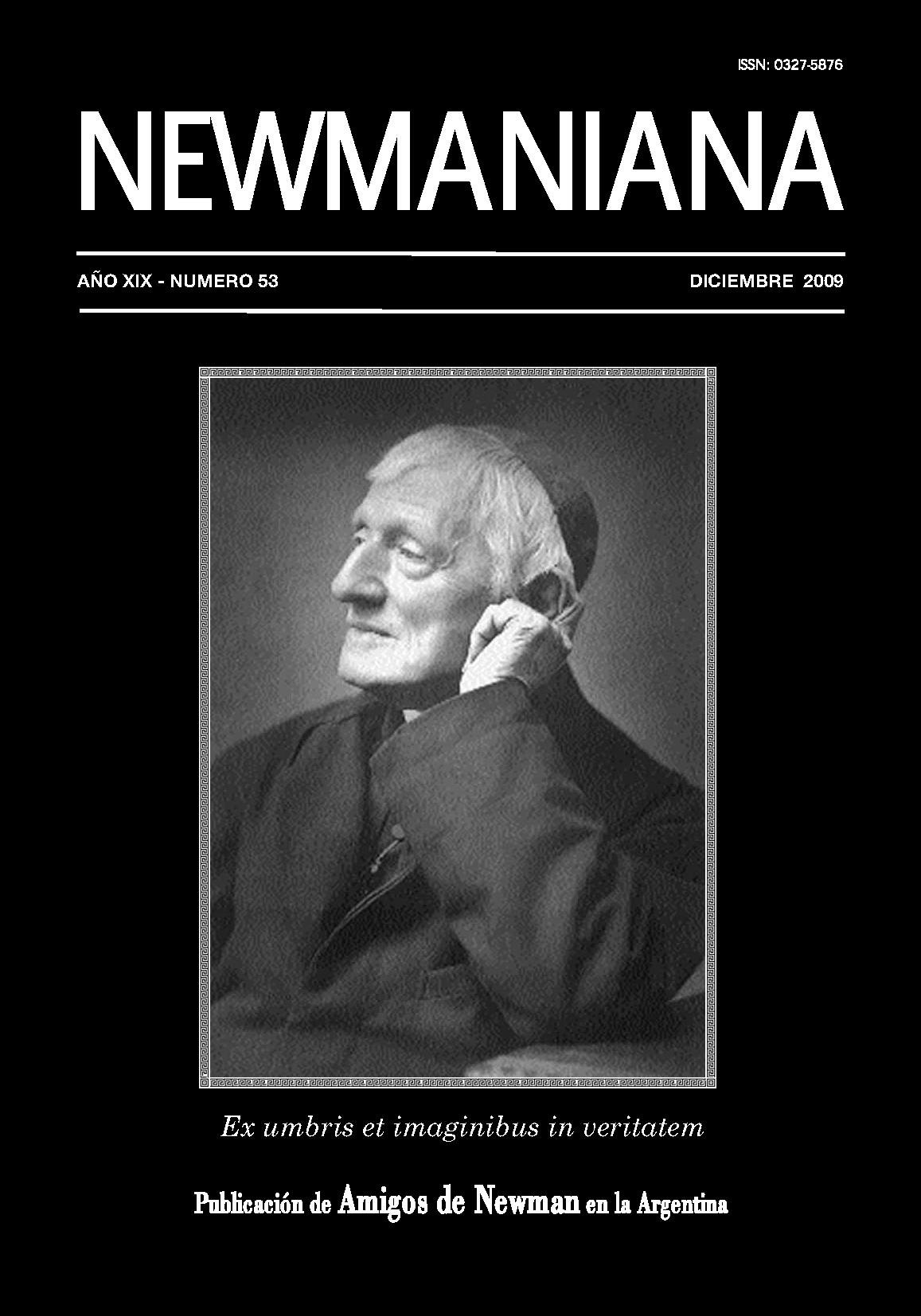 Revista Newmaniana 53 -Diciembre 2009