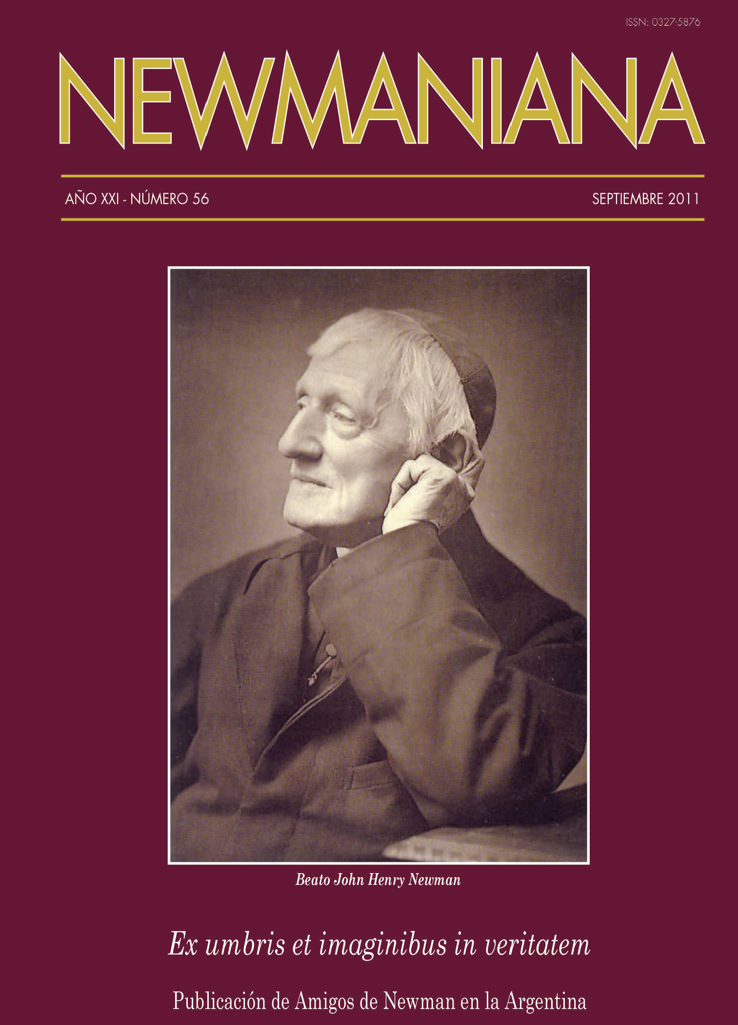 Revista Newmaniana 56 – Septiembre 2011