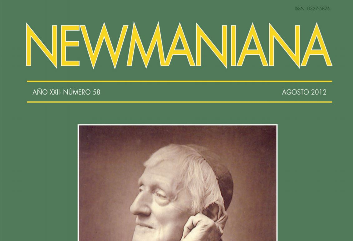 Revista Newmaniana 58 – Agosto 2012