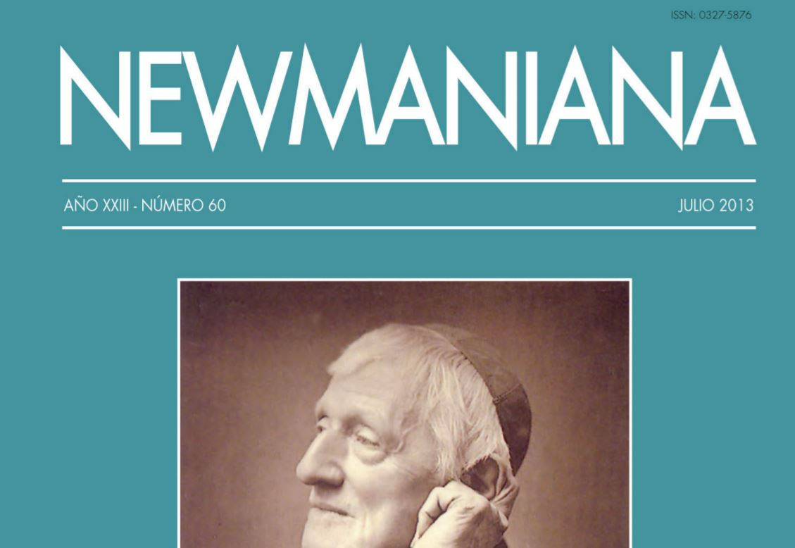 Revista Newmaniana N°60 – Julio 2013