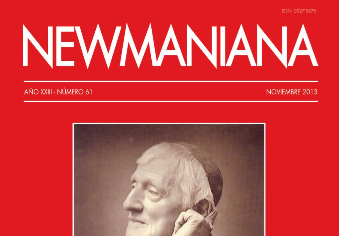 Revista Newmaniana N°61 – Noviembre 2013