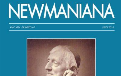 Revista Newmaniana N°62 – Julio 2014