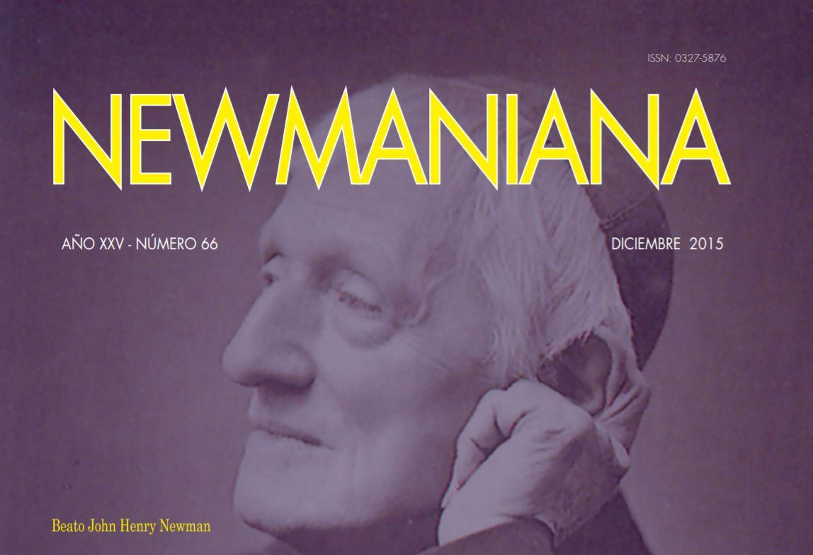 Revista Newmaniana N°66 – Diciembre 2015