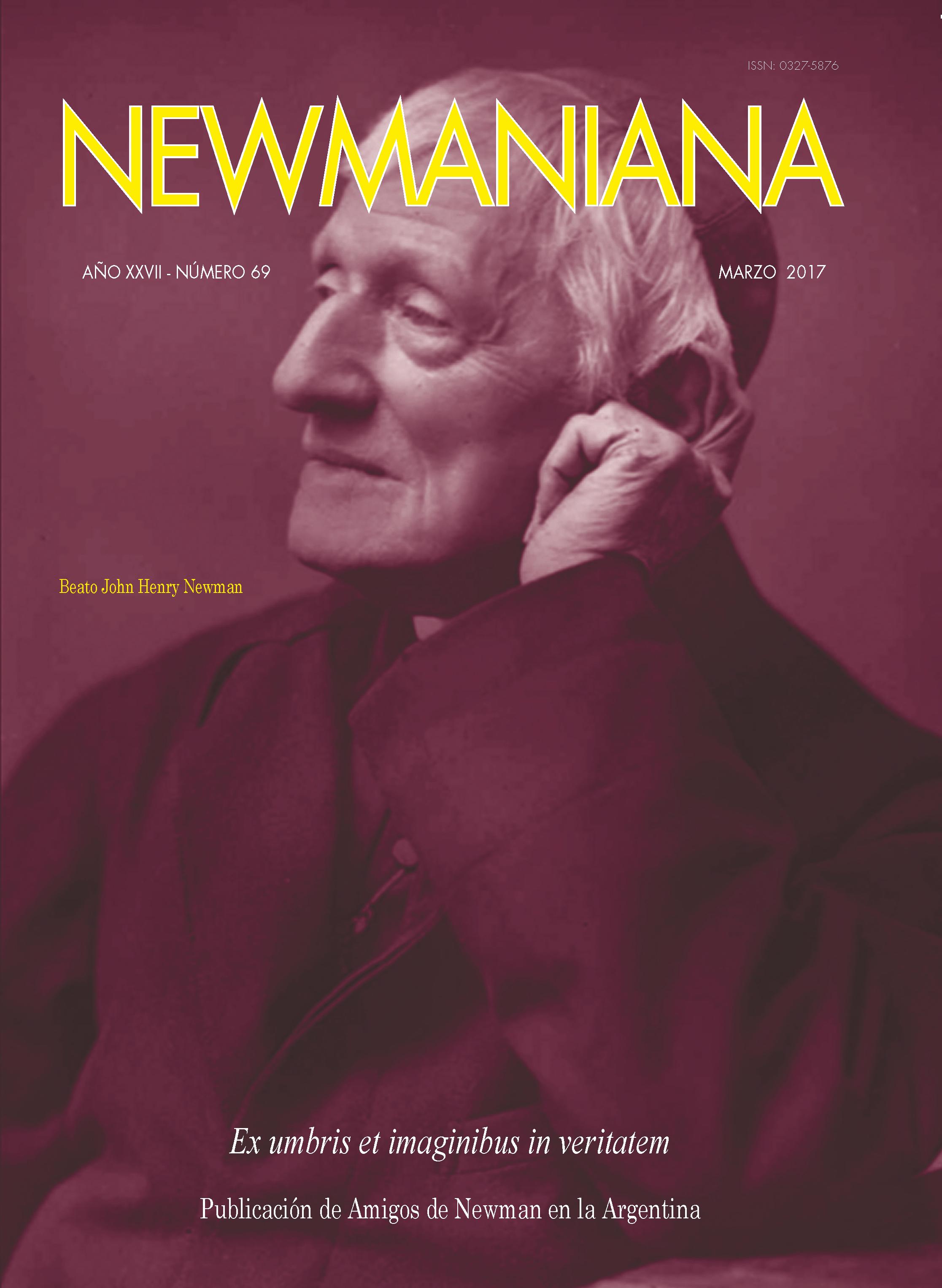 Revista Newmanian N°69 – Marzo 2017