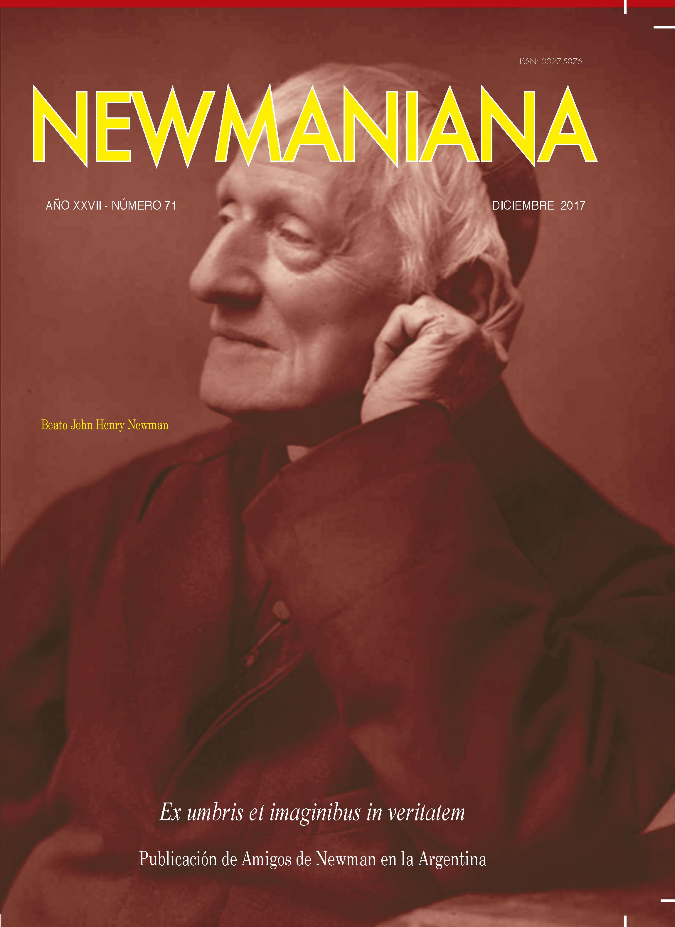 Revista Newmaniana N°71 – Diciembre 17