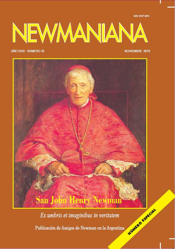 Revista Newmaniana 76 – Noviembre 2019