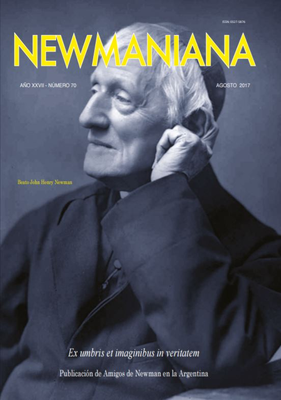Revista Newmaniana N°70 – Agosto 2017