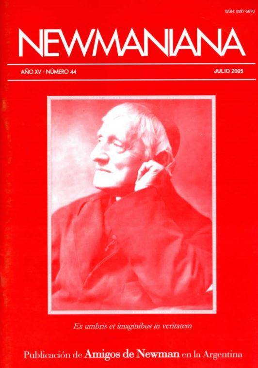 Revista Newmaniana N° 44 – Julio 2005