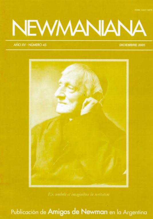 Revista Newmaniana N° 45 – Diciembre 2005