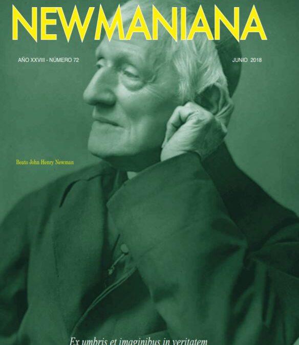 Revista Newmaniana N°72 – Junio 2018