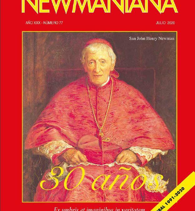 Revista Newmaniana 77 – Julio 2020