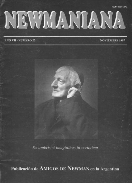 Revista Newmaniana 22 – Noviembre 1997