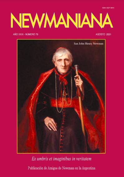Revista Newmaniana 79 – Agosto 2021